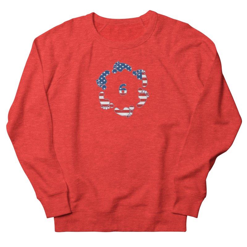 6 Feet USA Men's Sweatshirt by iffopotamus