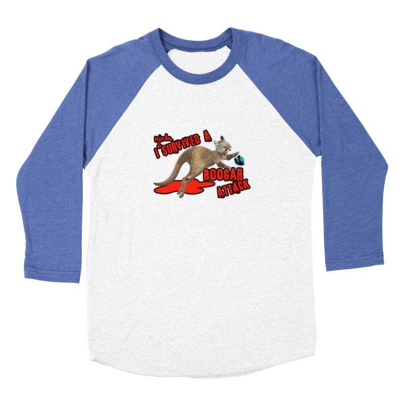 I Kinda Survived a Roogar Attack Men's Longsleeve T-Shirt by iffopotamus