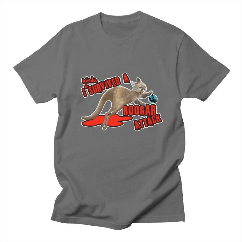 I Kinda Survived a Roogar Attack Men's T-Shirt by iffopotamus