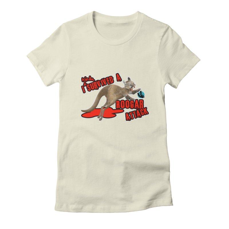 I Kinda Survived a Roogar Attack Women's T-Shirt by iffopotamus