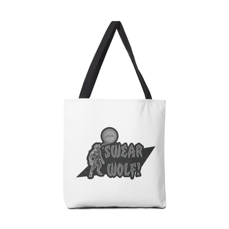 Swear Wolf! Accessories Tote Bag Bag by iffopotamus