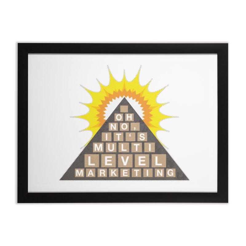 MLM Home Framed Fine Art Print by iffopotamus