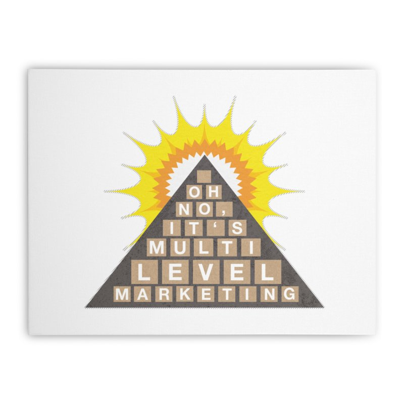 MLM Home Stretched Canvas by iffopotamus