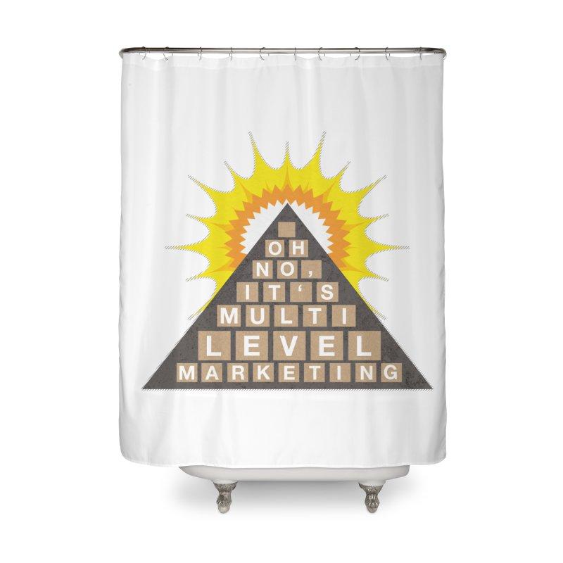 MLM Home Shower Curtain by iffopotamus