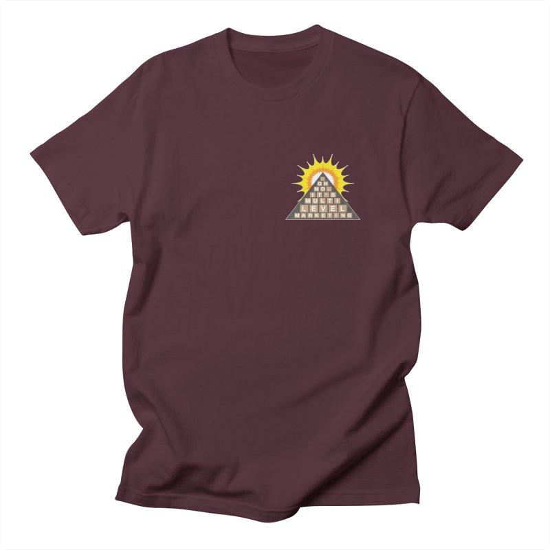 MLM Men's Regular T-Shirt by iffopotamus