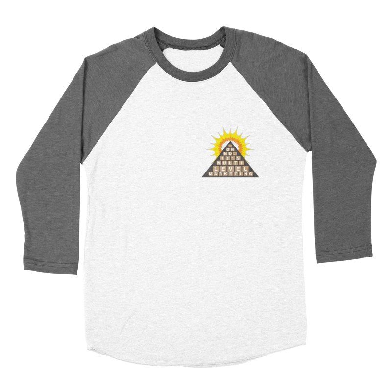 MLM Women's Baseball Triblend Longsleeve T-Shirt by iffopotamus