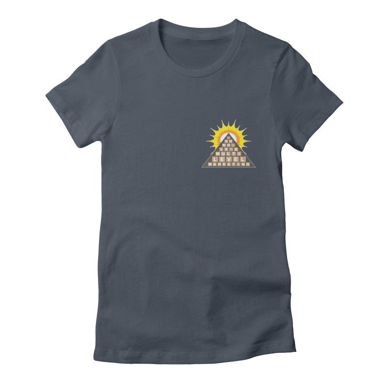 MLM Women's Fitted T-Shirt by iffopotamus