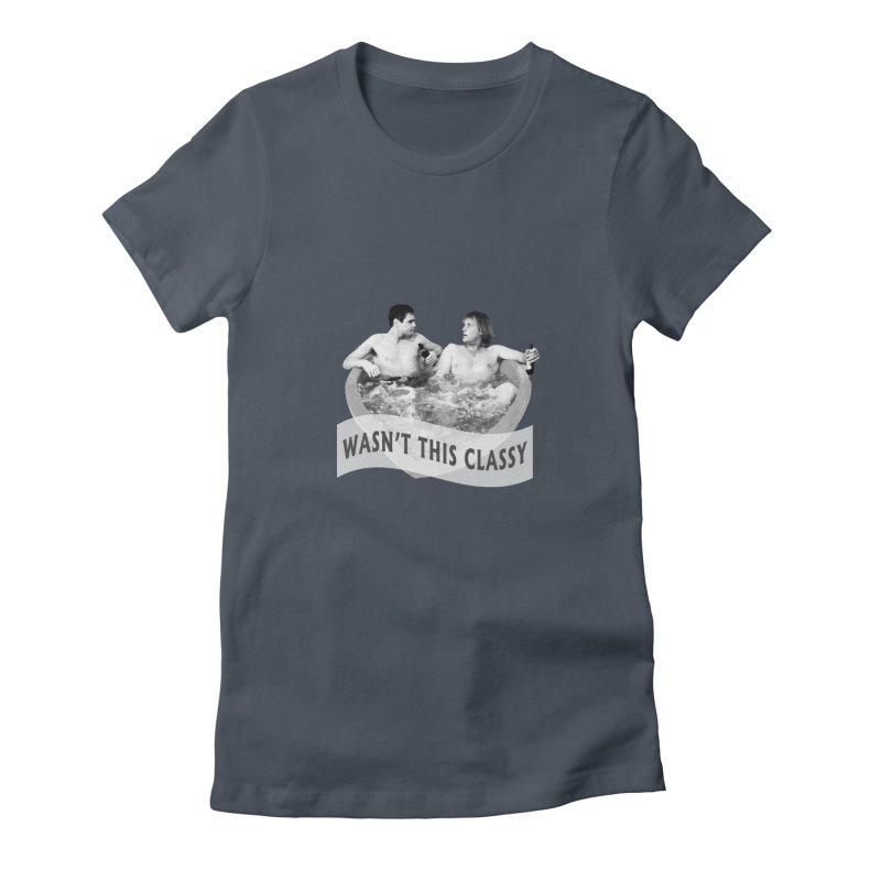 Classy Women's T-Shirt by iffopotamus