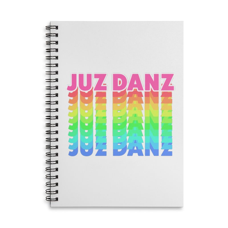 JUZ DANZ Accessories Lined Spiral Notebook by iffopotamus