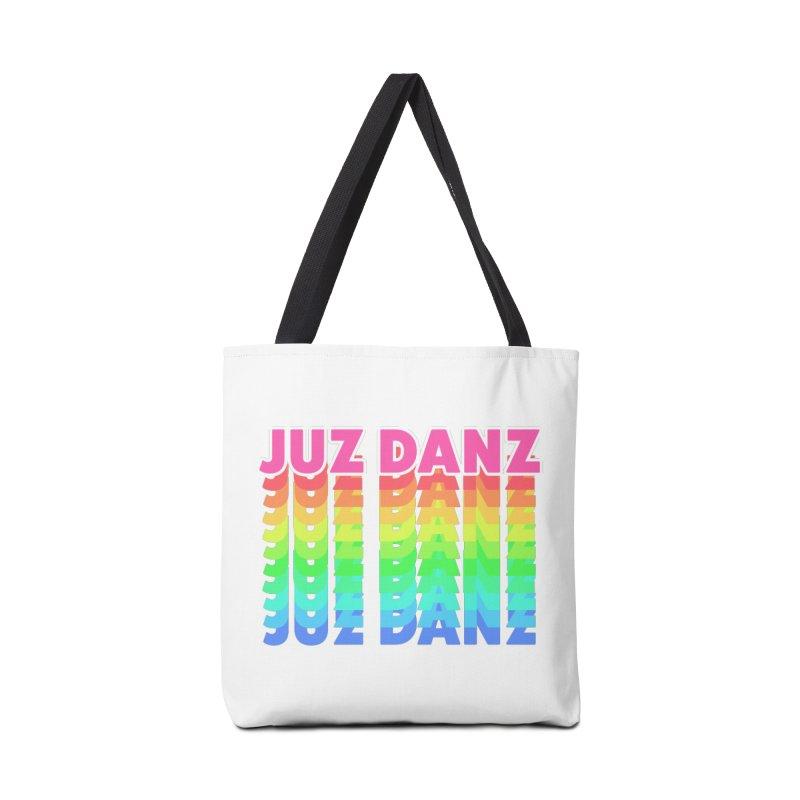 JUZ DANZ Accessories Tote Bag Bag by iffopotamus