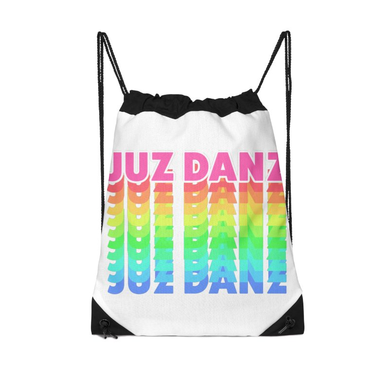 JUZ DANZ Accessories Drawstring Bag Bag by iffopotamus