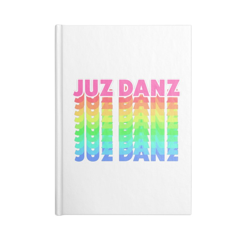 JUZ DANZ Accessories Blank Journal Notebook by iffopotamus