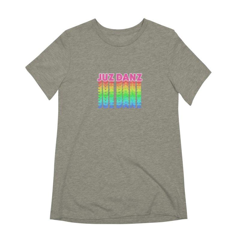 JUZ DANZ Women's Extra Soft T-Shirt by iffopotamus