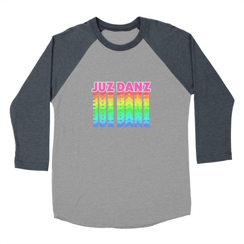 JUZ DANZ Men's Baseball Triblend Longsleeve T-Shirt by iffopotamus