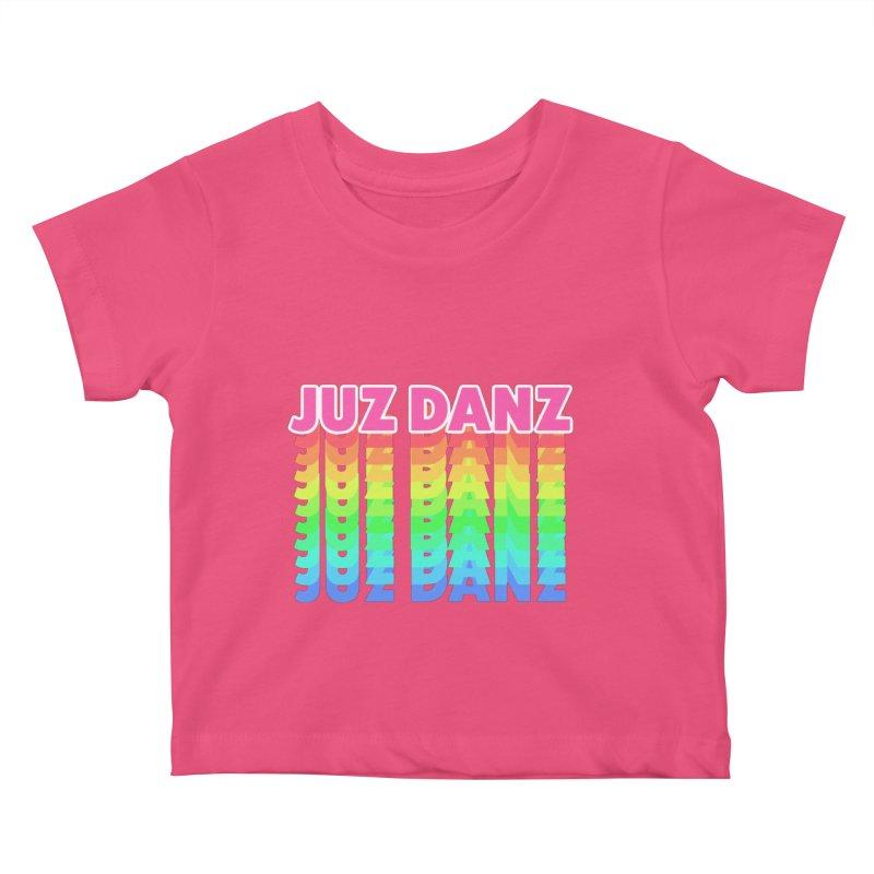 JUZ DANZ Kids Baby T-Shirt by iffopotamus