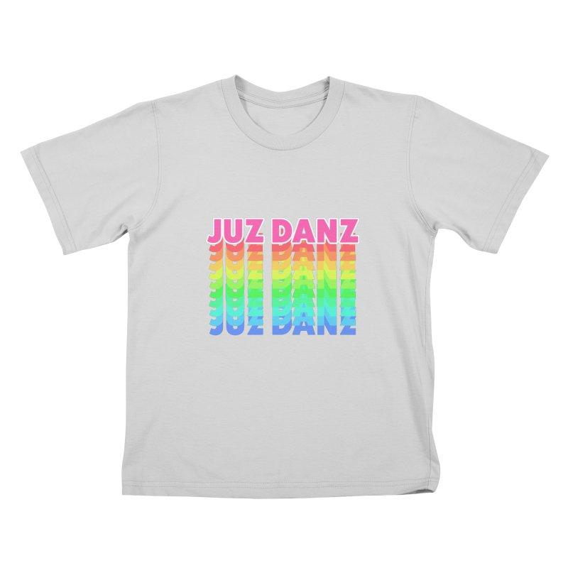 JUZ DANZ Kids T-Shirt by iffopotamus