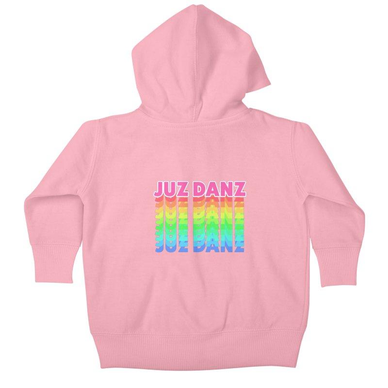 JUZ DANZ Kids Baby Zip-Up Hoody by iffopotamus