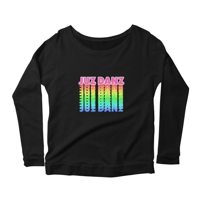 JUZ DANZ Women's Scoop Neck Longsleeve T-Shirt by iffopotamus