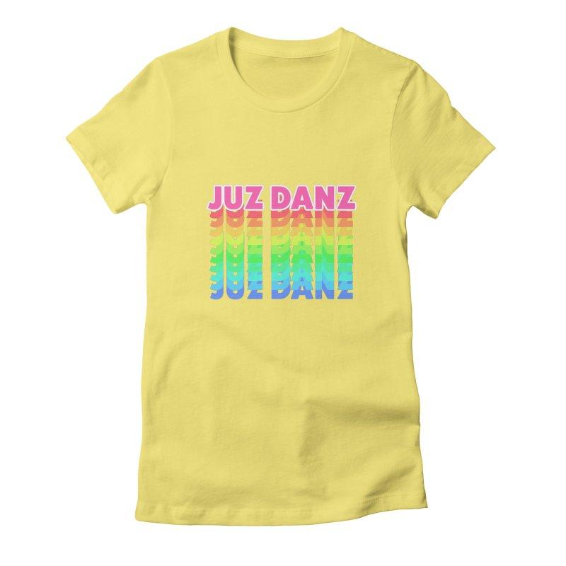 JUZ DANZ Women's Fitted T-Shirt by iffopotamus