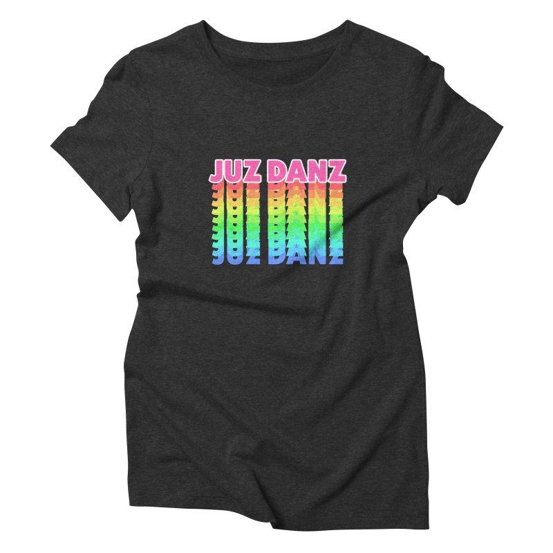 JUZ DANZ Women's Triblend T-Shirt by iffopotamus