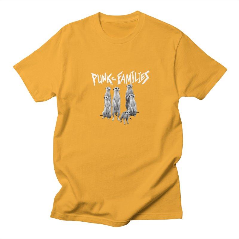 Punk For Families Men's Regular T-Shirt by iffopotamus