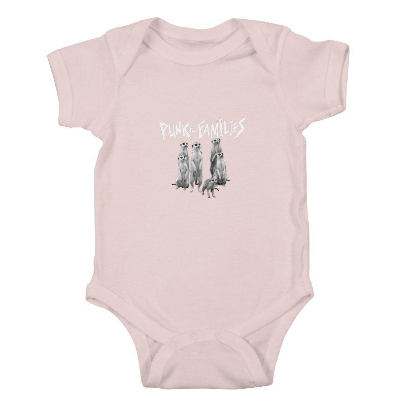 Punk For Families Kids Baby Bodysuit by iffopotamus
