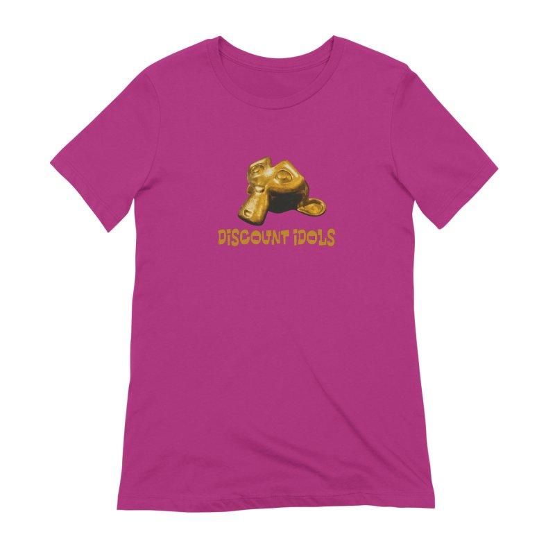 Discount Idols Women's Extra Soft T-Shirt by iffopotamus