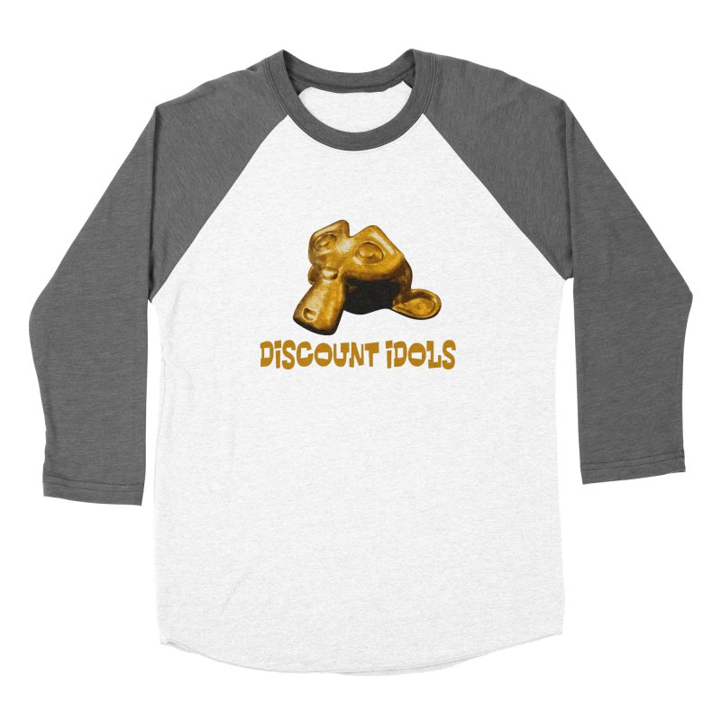 Discount Idols Men's Baseball Triblend Longsleeve T-Shirt by iffopotamus