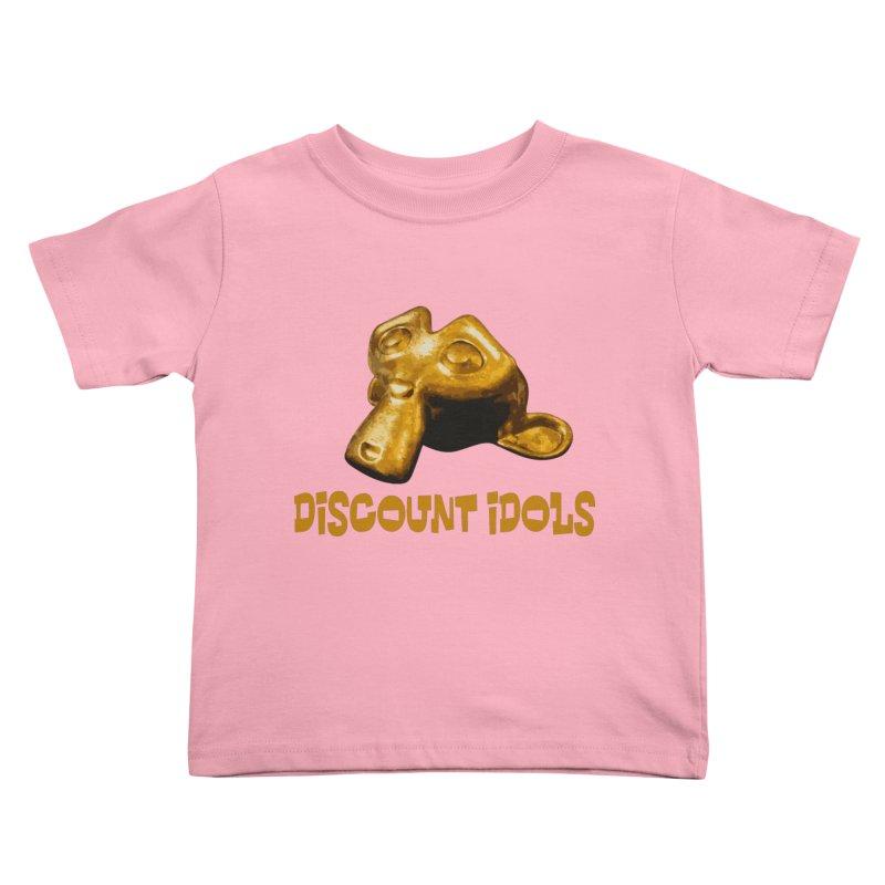 Discount Idols Kids Toddler T-Shirt by iffopotamus