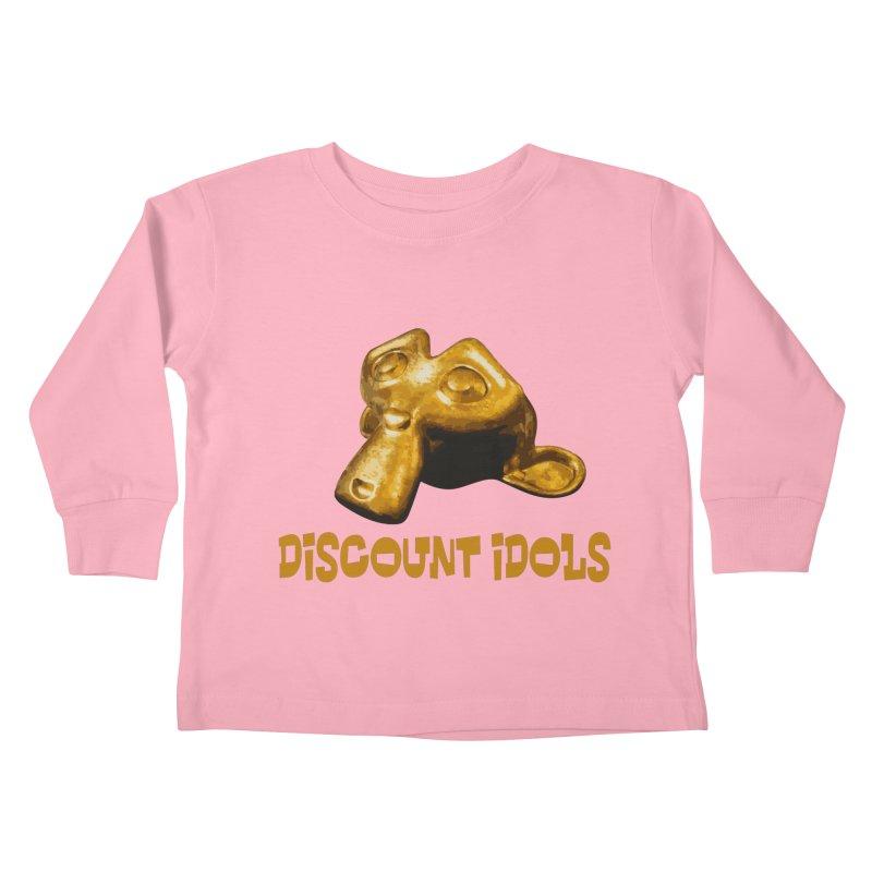 Discount Idols Kids Toddler Longsleeve T-Shirt by iffopotamus