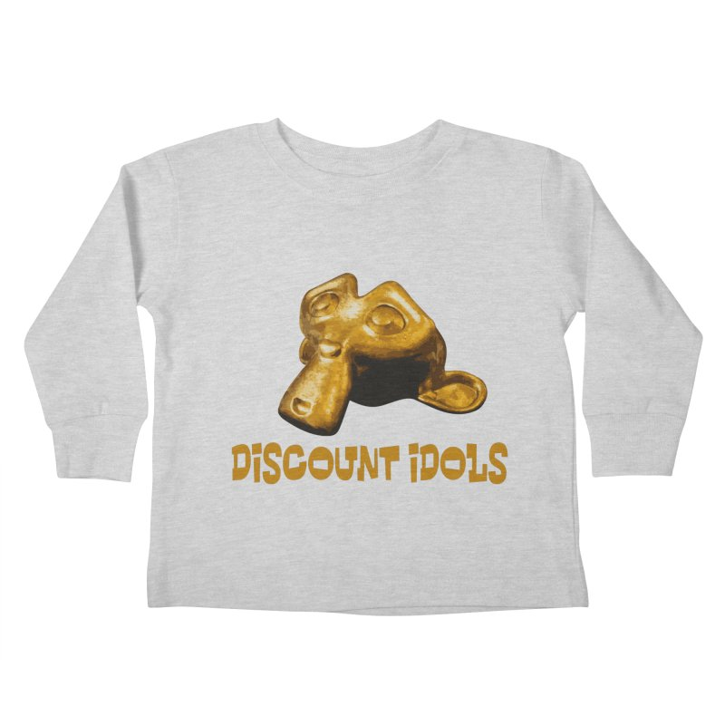 Discount Idols Kids Toddler Longsleeve T-Shirt by iffopotamus