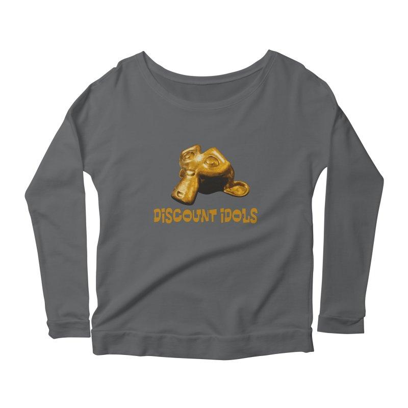 Discount Idols Women's Scoop Neck Longsleeve T-Shirt by iffopotamus
