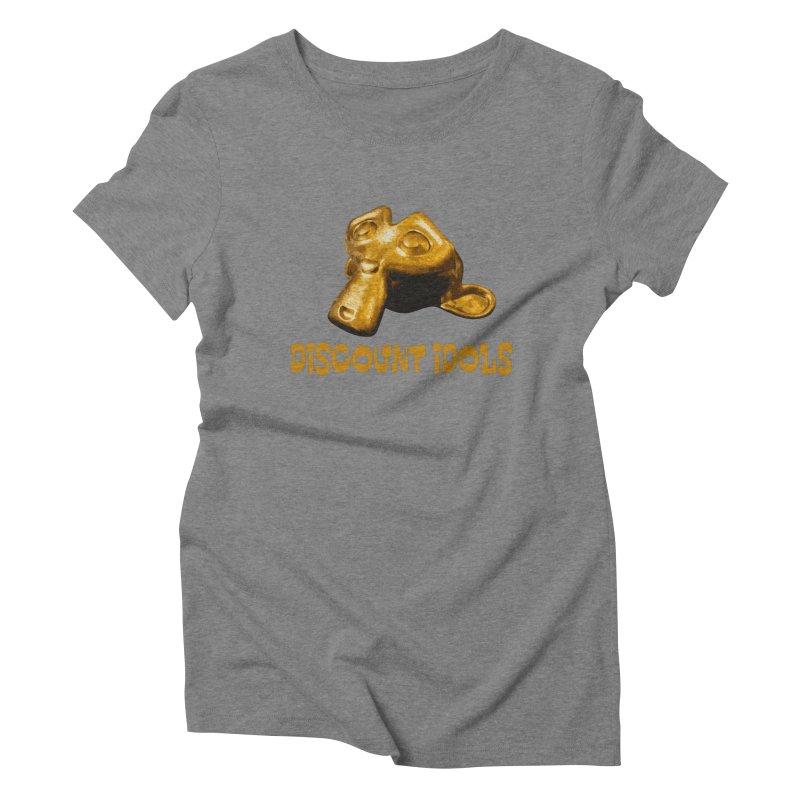 Discount Idols Women's Triblend T-Shirt by iffopotamus