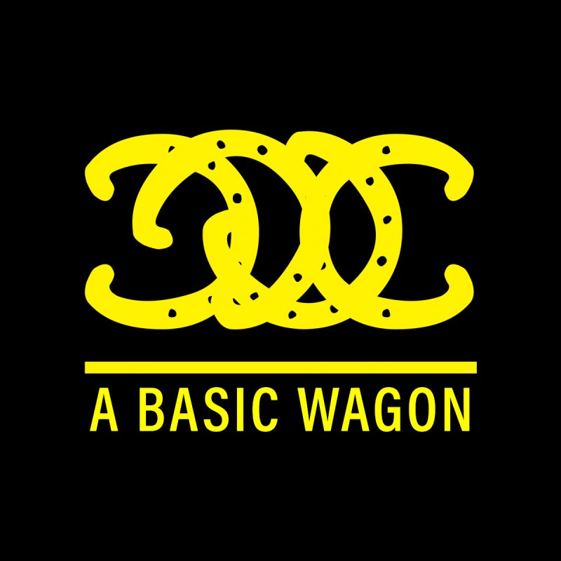 A Basic Wagon (Yellow Logo) Accessories Bag by iffopotamus