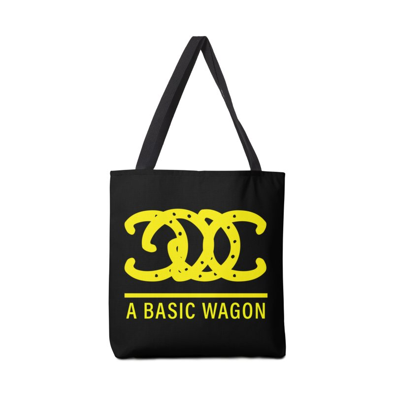 A Basic Wagon (Yellow Logo) Accessories Tote Bag Bag by iffopotamus