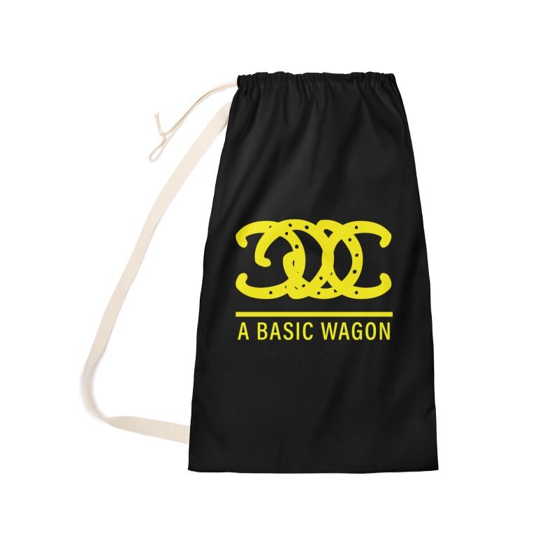 A Basic Wagon (Yellow Logo) Accessories Laundry Bag Bag by iffopotamus