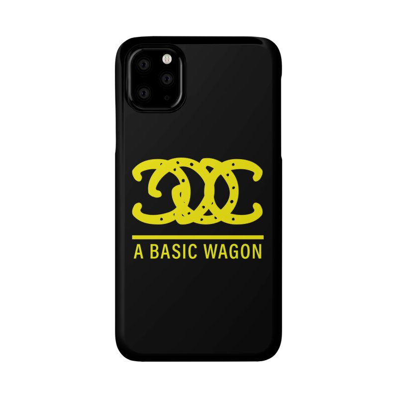 A Basic Wagon (Yellow Logo) Accessories Phone Case by iffopotamus