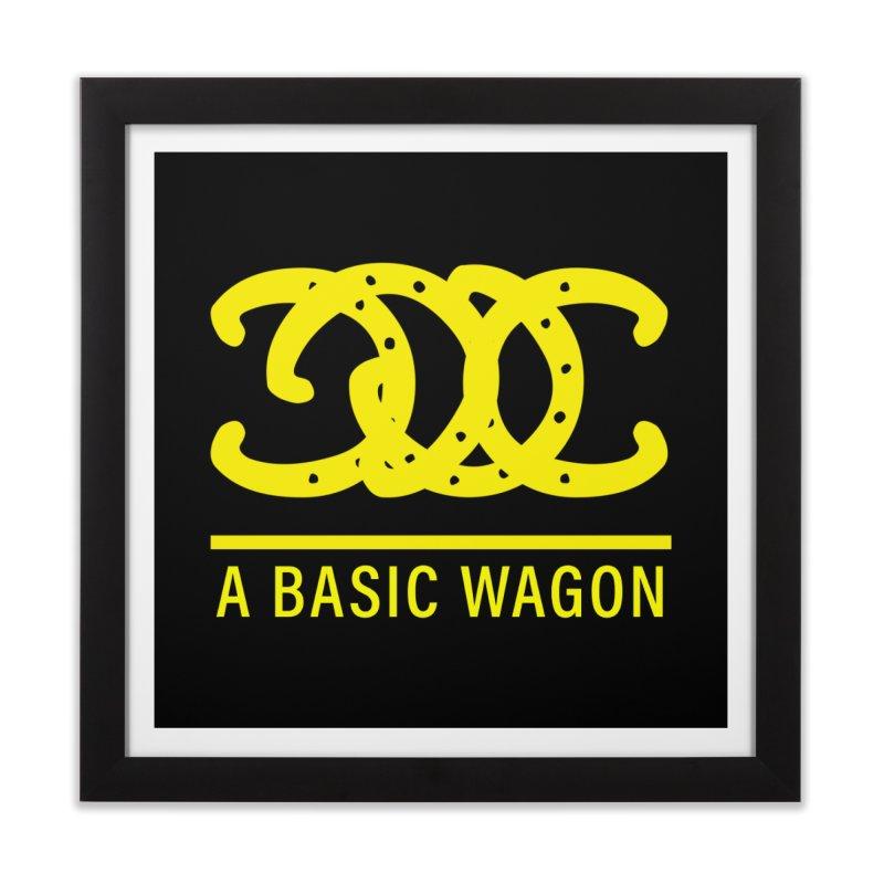 A Basic Wagon (Yellow Logo) Home Framed Fine Art Print by iffopotamus