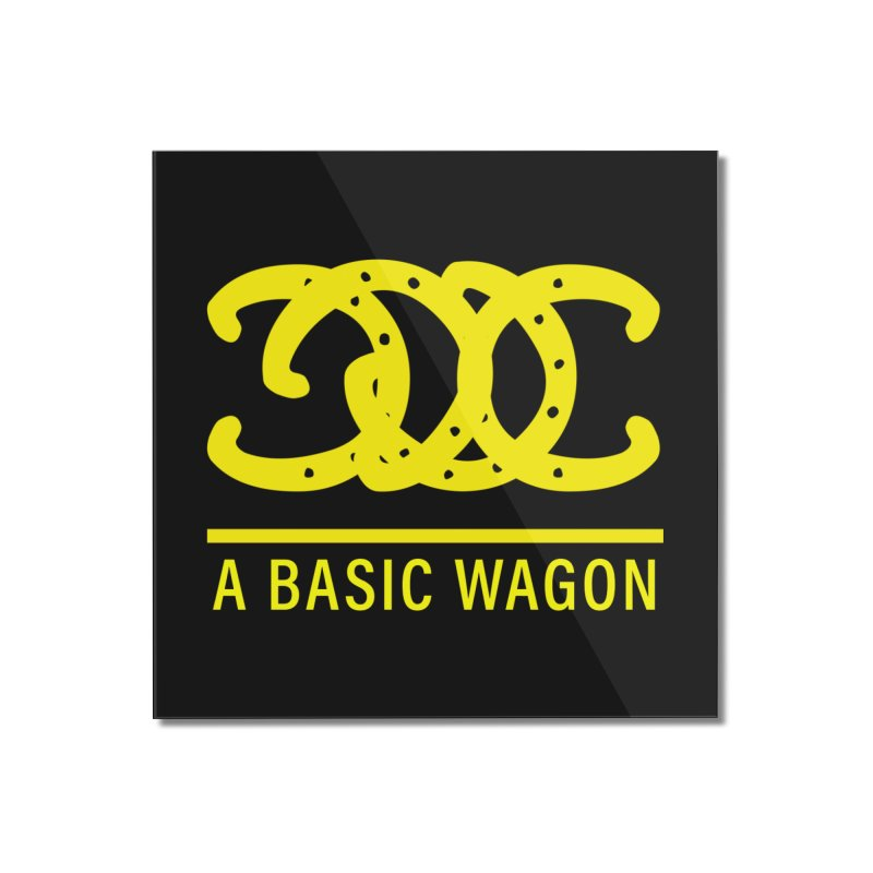 A Basic Wagon (Yellow Logo) Home Mounted Acrylic Print by iffopotamus