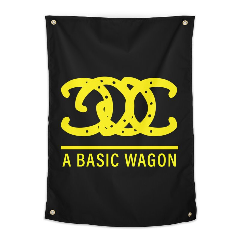 A Basic Wagon (Yellow Logo) Home Tapestry by iffopotamus