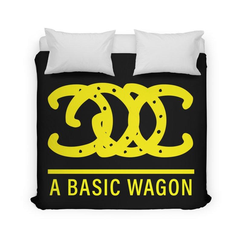 A Basic Wagon (Yellow Logo) Home Duvet by iffopotamus