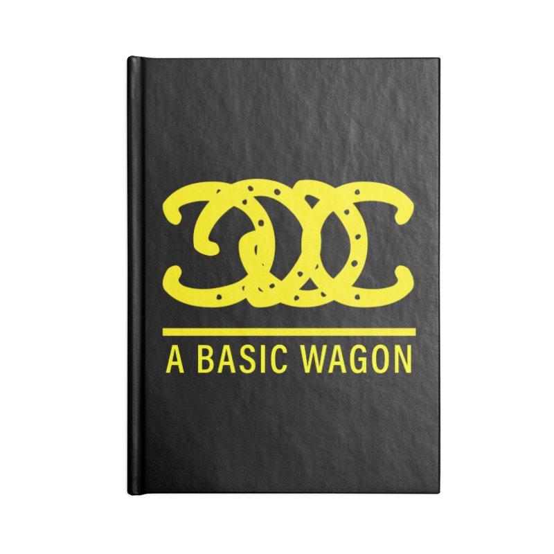 A Basic Wagon (Yellow Logo) Accessories Notebook by iffopotamus