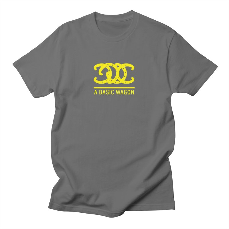 A Basic Wagon (Yellow Logo) Men's T-Shirt by iffopotamus