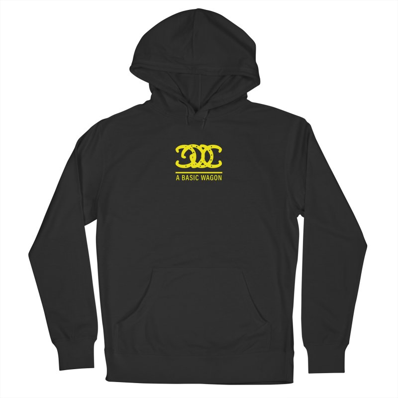 A Basic Wagon (Yellow Logo) Men's Pullover Hoody by iffopotamus