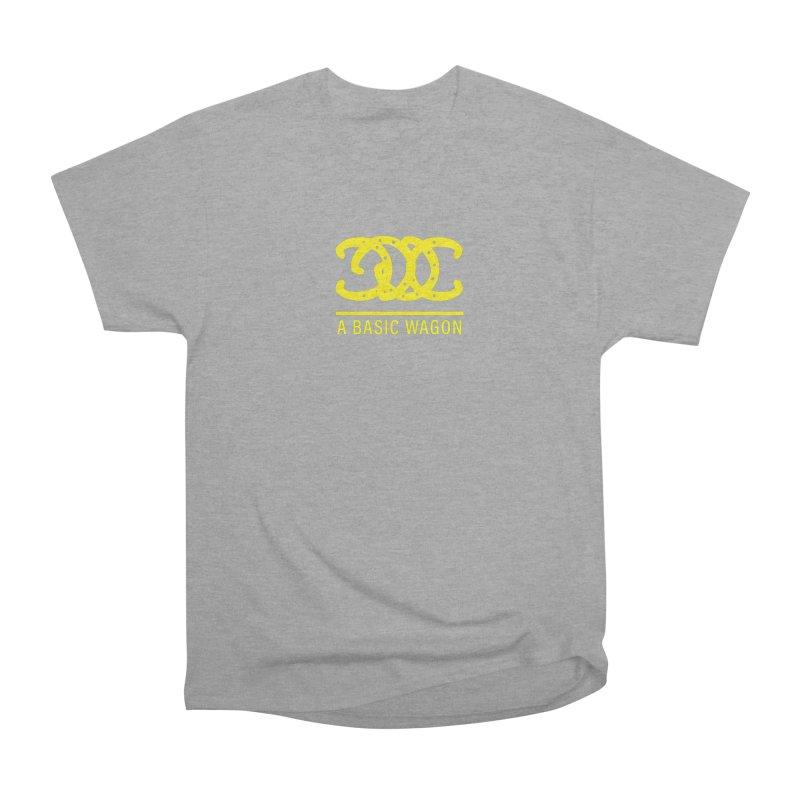 A Basic Wagon (Yellow Logo) Women's Heavyweight Unisex T-Shirt by iffopotamus