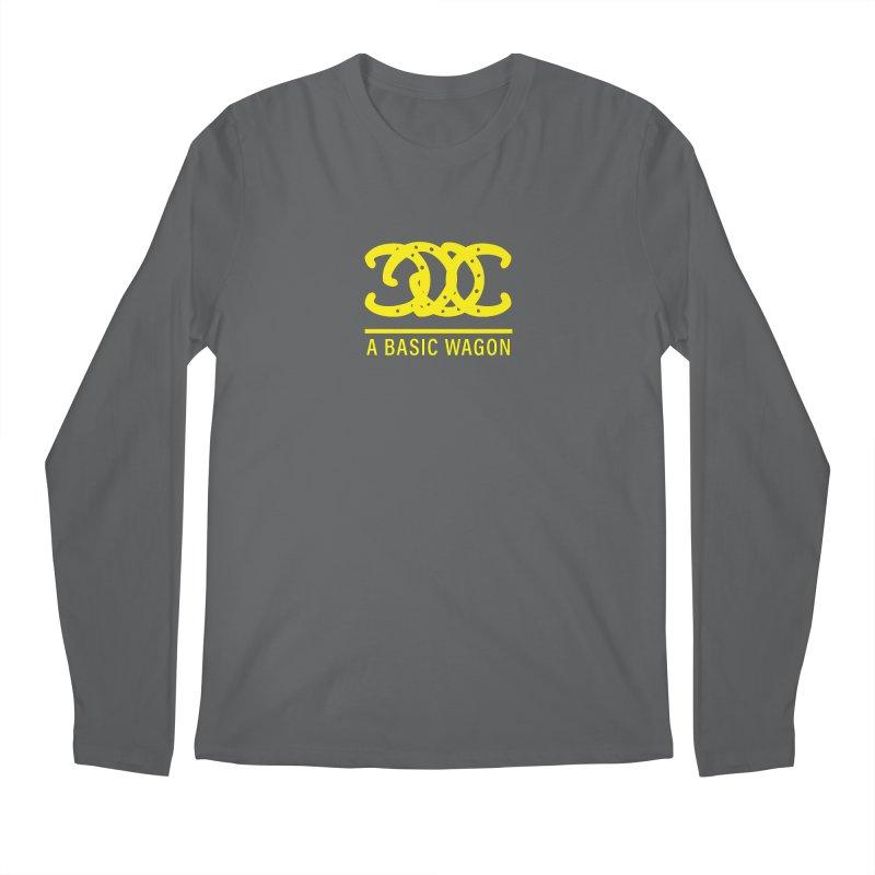 A Basic Wagon (Yellow Logo) Men's Longsleeve T-Shirt by iffopotamus