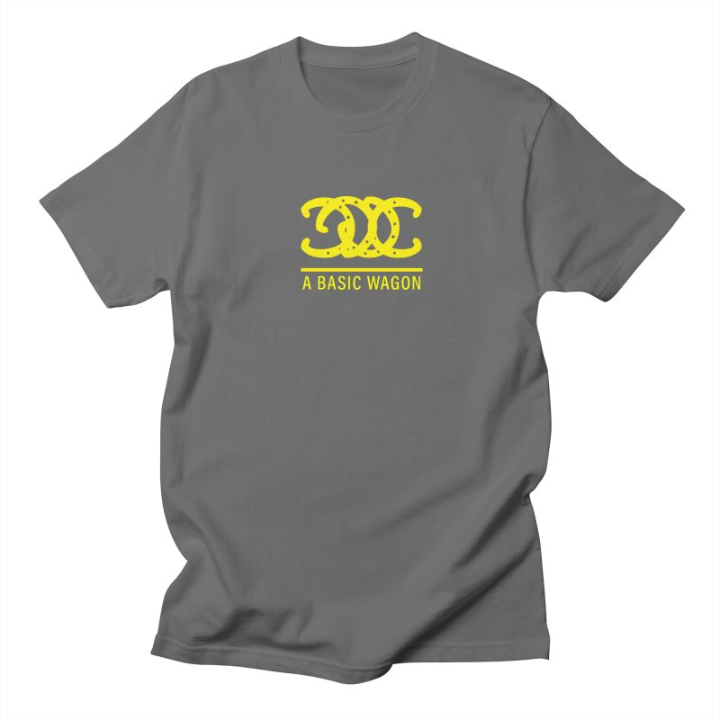 A Basic Wagon (Yellow Logo) Men's T-Shirt by iffopotamus