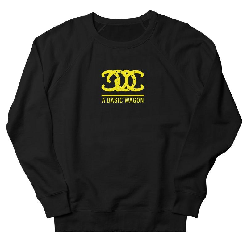 A Basic Wagon (Yellow Logo) Men's Sweatshirt by iffopotamus