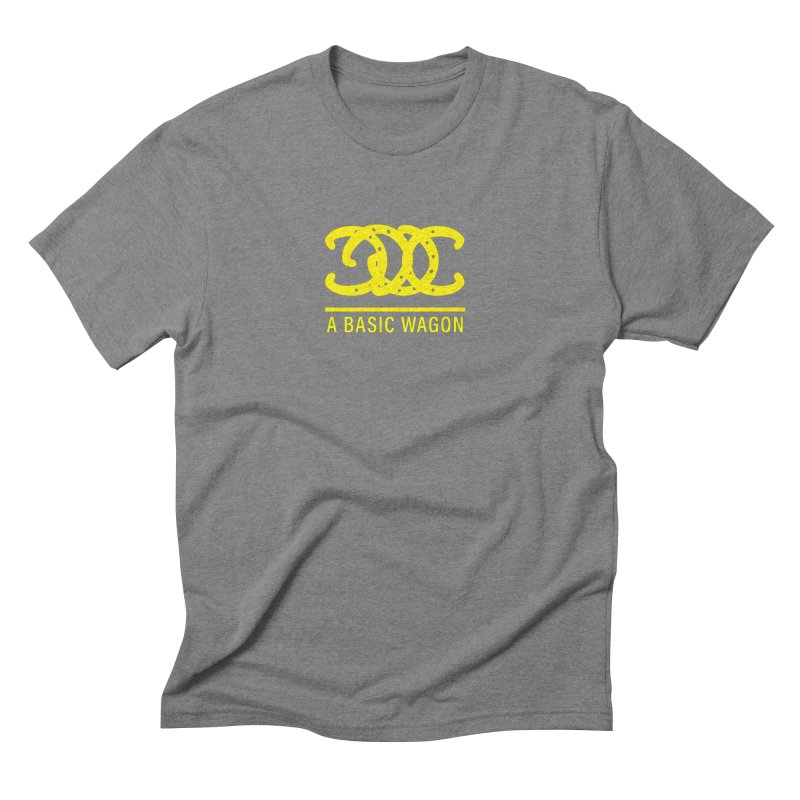 A Basic Wagon (Yellow Logo) Men's Triblend T-Shirt by iffopotamus