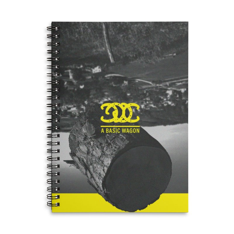A Basic Wagon (Album Cover) Accessories Lined Spiral Notebook by iffopotamus